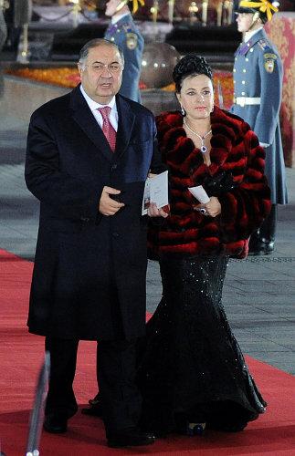 алишер усманов с женой фото