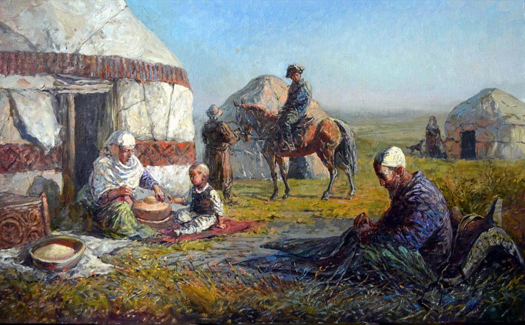 Картинки казахский аул, дню