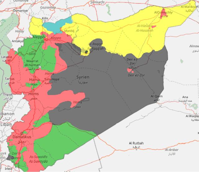 Сирийская оппозиция поведала опредложении Российской Федерации поразграничению сил
