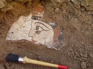 В Каракалпакстане обнаружена уникальная настенная надпись