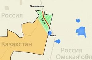 Казахстан и Россия договариваются об обмене территориями