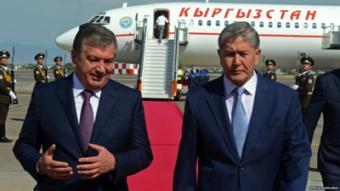 Алмазбек Атамбаев собирается с рабочим визитом в Узбекистан?