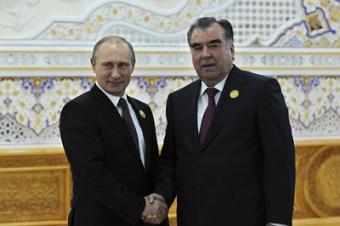 Эксперт: на первый план переговоров Путина и Рахмона выйдет безопасность