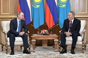 О чём говорили Назарбаев и Путин