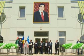 Туркменистан построил в Молдавии детский сад (фото)