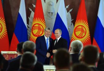 Что стоит за прощальным визитом Атамбаева в Москву