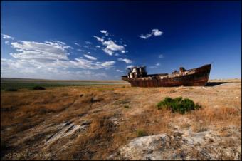 О стихийных бедствиях в Центральной Азии, Аральском море и последствиях выхода США из Парижского соглашения