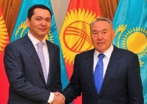 Президент Казахстана встретился с кандидатом в президенты Киргизии Омурбеком Бабановым