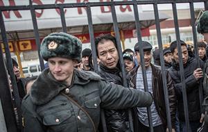 Как живется кыргызам в Москве, где бунтуют таджикские мигранты