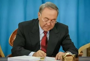 Назарбаев ратифицировал нью-йоркский договор о торговле оружием