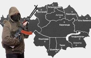 География экстремизма в Казахстане
