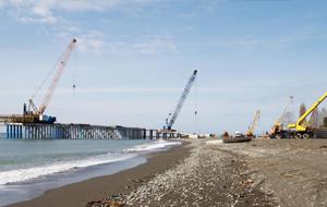 В Туркменистане завершается проект строительства прикаспийского порта