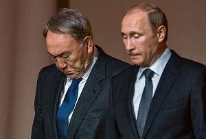 Назарбаев между Путиным и Трампом