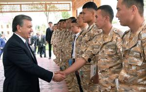 Первый военный институт открыли в Узбекистане