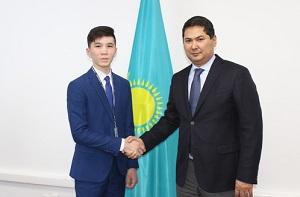 В Казахстане  советником главы Агентства по противодействию коррупции назначен 15 летний школьник