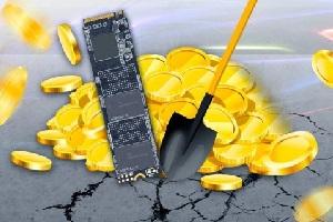 В Китае начали производить специальные SSD-носители для майнинга криптовалюты Chia